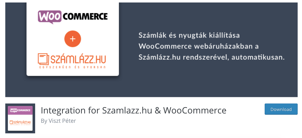 számlázó wordpress plugin