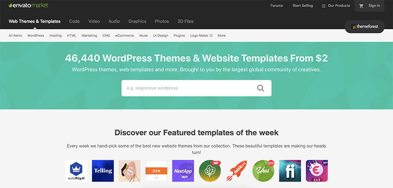 envato themeforest