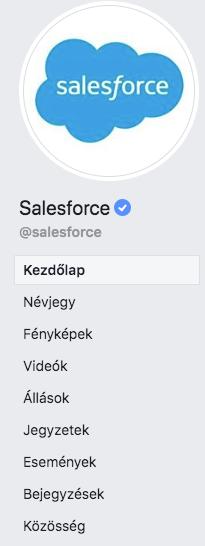 facebook márka logó