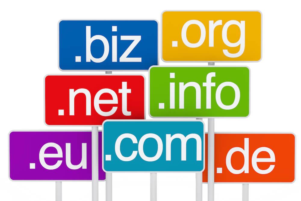 első szintű domain végződés