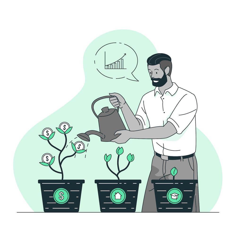 weboldal befektetés