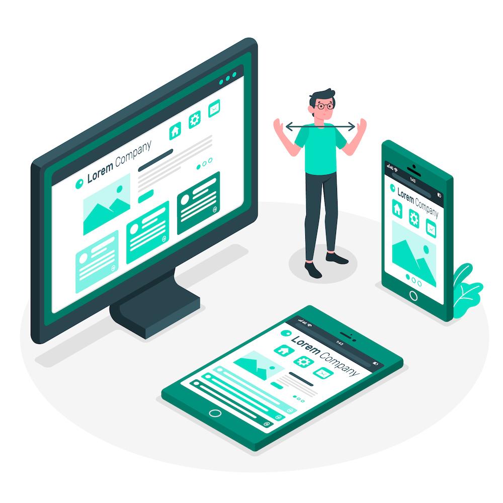 reszponzív weboldal készítése
